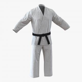 Karate White Suit 3D
