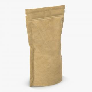 Food Vacuum Sealed Bag 2 3D model