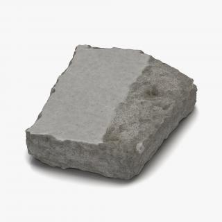 3D Concrete Chunk 3
