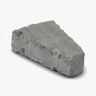 3D Concrete Chunk 7