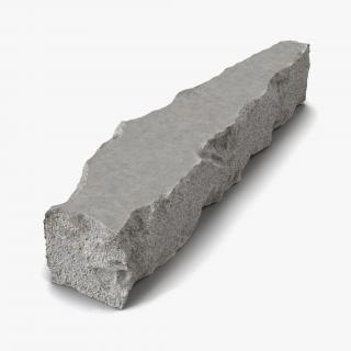 3D Concrete Chunk 9
