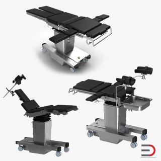 Operating Tables Collection 3D
