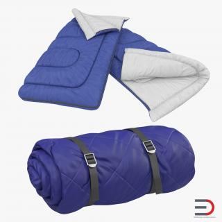 Sleeping Bags Set 3D