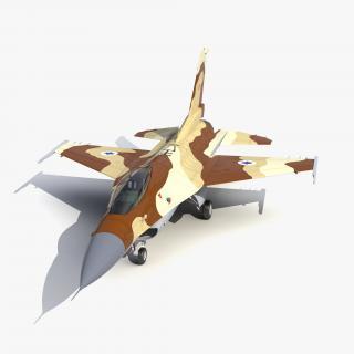 3D model Fighter F-16 Fighting Falcon Israel
