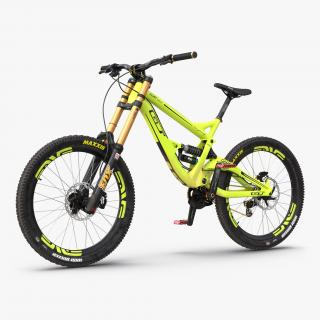 Mountain Bike GT Fury Green 3D