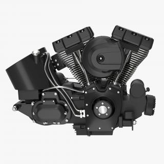 Motorcycle Engine 3 3D model