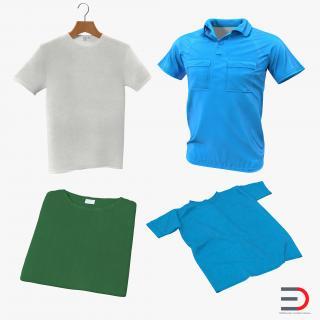 T-Shirts 3D Models Collection 3D model
