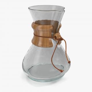 Glass Coffee Carafe 3D model