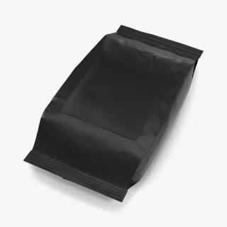 3D model Ground Coffee Bag Plastic