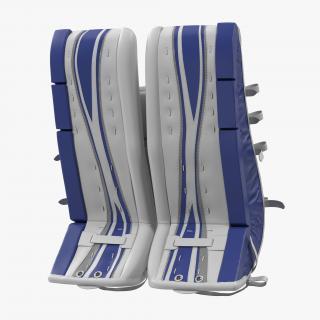 3D model Hockey Goalie Leg Pads Generic