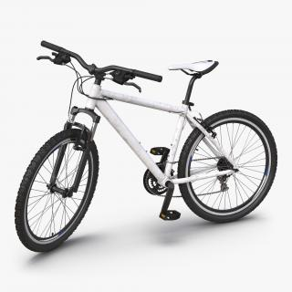 3D model Mountain Bike Generic 2 Rigged