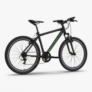 Mountain Bike Black 3D model