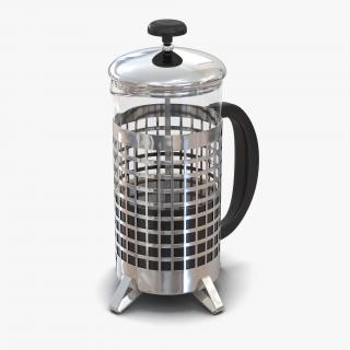 French Press 2 3D model