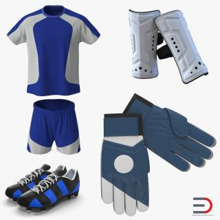 Soccer Gear Collection 3D
