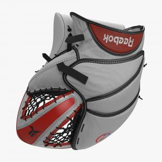 Hockey Goalie Catcher Glove Reebok 3D model