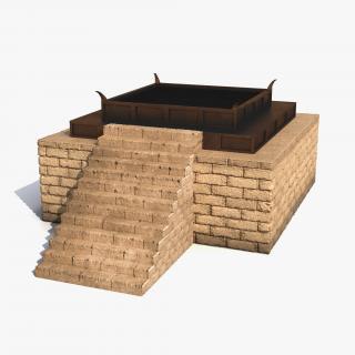 3D Stone Altar