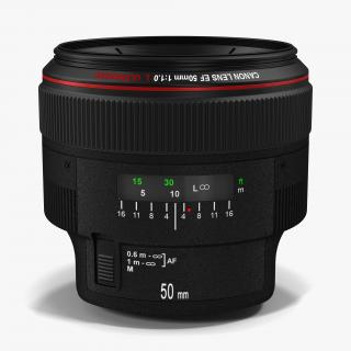 3D Canon Lens Collection