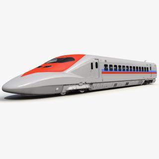 3D model Speed Train Locomotive Generic