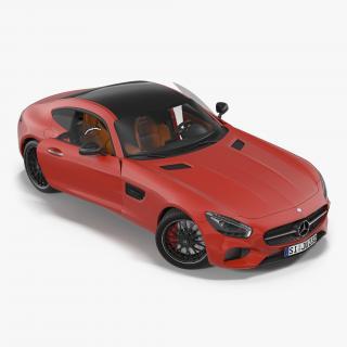 Mercedes Benz AMG GT 2016 Rigged 3D
