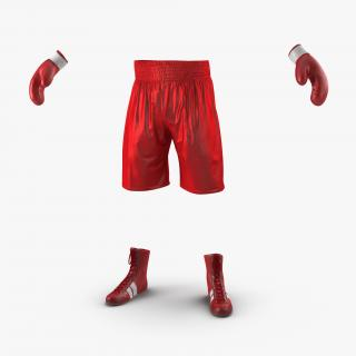 3D Boxing Gear 2 model