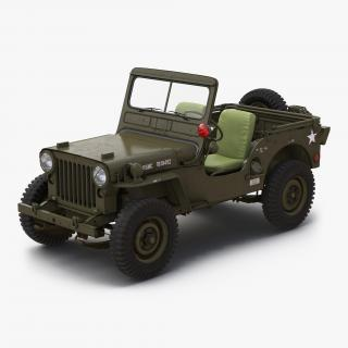 3D model Jeep Willys M38