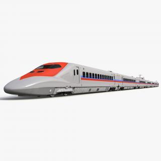 Speed Train Generic 3D model