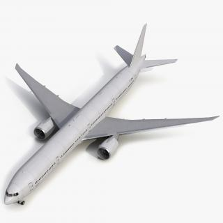 3D Boeing 777 9x Generic