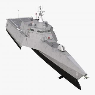 USS Independence LCS-2 3D