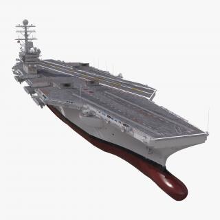 USS Theodore Roosevelt CVN-71 3D model