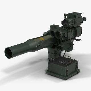 BGM-71 TOW Missile Systems Collection 3D