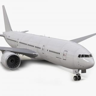 Boeing 777-200LR Generic 3D model