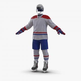 3D Hockey Equipment Generic 4