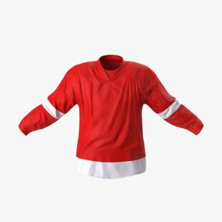 3D Hockey Jersey Generic 2 model