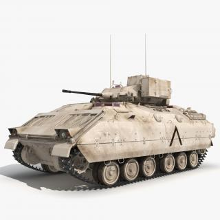 US Infantry Fighting Vehicle Bradley M2 3D model