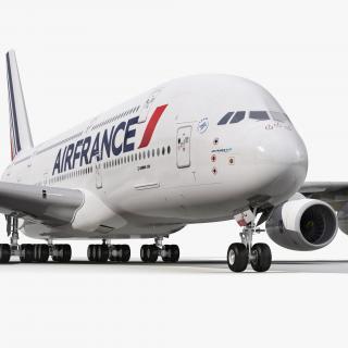 3D Airbus A380-900 Air France