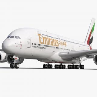 Airbus A380-900 Emirates 3D model