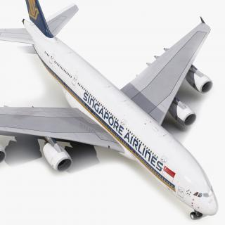 Airbus A380-900 Singapore Airlines 3D model