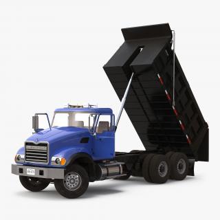 Dump Truck Mack Rigged 3D