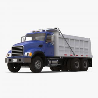 Dump Truck Generic Simple Interior 3D model