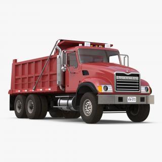 3D model Dump Truck Mack