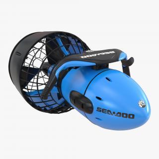 3D Sea Scooter Diver Propulsion Vehicle