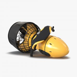 Sea Scooter Diver Propulsion Vehicle Generic 3D model