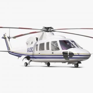 3D Helicopter Sikorsky s76 model
