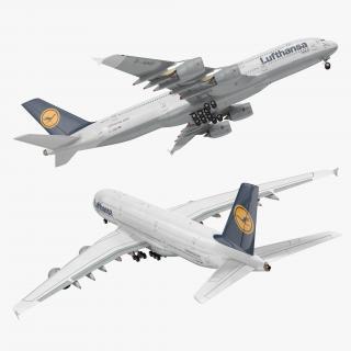 Airbus A380-1000 Air France 3D