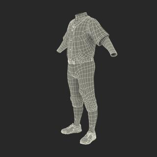 3D model Baseball Player Outfit Twins 3