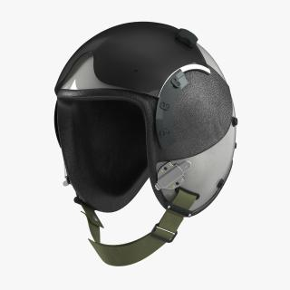 3D Military Pilot Helmet 2 model