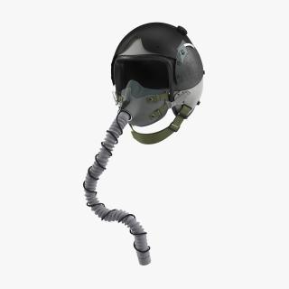 US Military Pilot Helmet 3D model