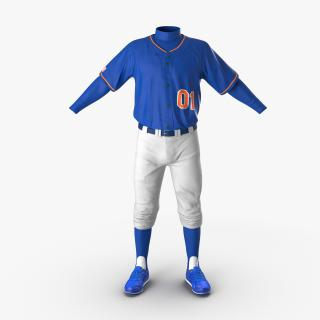Baseball Player Outfit Generic 5 3D