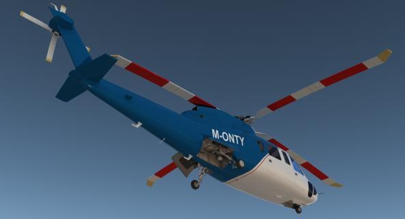 Sikorsky s76 3D