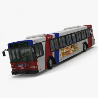 3D model Gillig Low Floor Bus